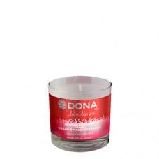 Dona Kissable Massage Candle Strawberry