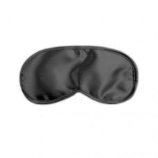 Satijnen Love Mask - Zwart