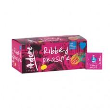 Adore Ribbed Pleasure condooms 144 stuks